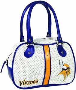 "NFL Minnesota Vikings ""Ethel"" Handbag, 10.5"""