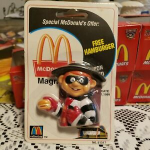 Vintage McDonald's Hamburglar Magnet In Original Package No.51317