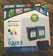 HP Inkjet 92/93 Black & Tri-Color Cartridge Combo DataProducts Remanufactured