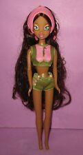 "Winx Club Giochi Preziosi Aisha Layla Italian RARE Barbie Size 12"" Dressed Doll!"