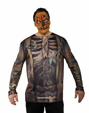 Scarecrow Mask Adult Male Halloween Costume Accessories - One Size