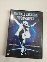 DVD   michael jackson moonwalker una pelicula como jamas habias visto  dvd