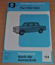 FIAT 1100 1200 R millecento ab 1956 Reparaturanleitung B114 Handbuch Bucheli neu