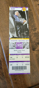 2004 WESTERN CONFERENCE FINALS FULL TICKET TIMBERWOLVES @ LAKERS GAME 6 CLINCH