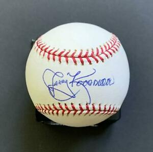 Jerry Koosman Signed OML Baseball-1969 New York Mets-Minnesota Twins pitcher