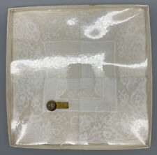 Gerbrend Creation All Cotton French Lace Handkerchief Made In Hong Kong Nos