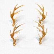 Brads - Antler antlers deer hunting reindeer christmas - pk of 4 - scrapbooking