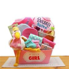 Gbds 890652-P A Special Delivery New Baby Gift Basket- Pink