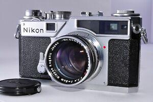 [ Near Mint ] NIKON SP Rangefinder Film Camera w/ NIKKOR-S.C 5cm F1.4 From Japan