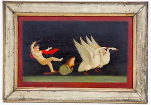 Michelangelo Maestri (1779 - 1812) Attrib. Pair of Italian Oil Paintings, Framed
