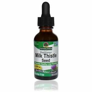 Nature's Answer Milk Thistle Extract   Promotes Healthy Liver Function  