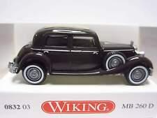 Wiking 832-03 Mercedes 260 D W138 - Limousine - dunkelbraun lack.