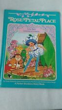 vintage 1984 Rose Petal Place Lily Fair Learns a Lesson A Parker Bros Story Book