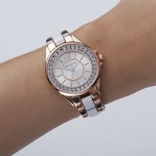 Newbridge Silverware Jewellery Ladies Watch Round Face Rose Gold NEW