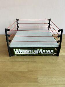 WWE Wrestlemania 1998 Jakks Titan Sport Wrestling Ring WWF Wrestle Fight Case