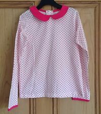 Marks and Spencer Spotted Long Sleeve Girls' T-Shirts & Tops (2-16 Years)