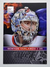 2018-19 BY Cards KHL Mask Collection #MASK-Col-108 Semyon Varlamov #/50