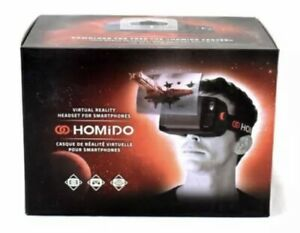 "Homido HOMIDOFK2 - V1 Virtual Reality Headset Smartphone iPhone Android ""Black"""