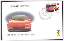 FERRARI BUSTA UFFICIALE - 1984  FERRARI  TESTAROSSA