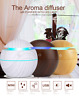 Ultrasonic Aromatherapy Wood Grain Diffuser Essential Oil Aroma Home Humidifier#