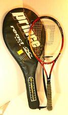 Prince LXT React Lite Graphite Tennis Racquet w Cover - 4 1/4 Comfort Grip