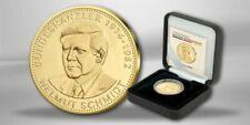 Gold Medaillen berühmter Personen