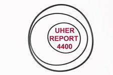 SET RIEMEN UHER REPORT 4400 & 4400 STEREO IC TONBANDMASCHINE EXTRA STRONG FRISCH