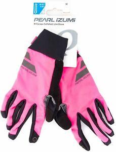 Pearl Izumi Women Escape Softshell Lite Glove MEDIUM Full Finger Road Bike MTB