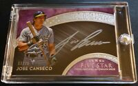 2017 JOSE CANSECO TOPPS FIVE STAR SILVER SIGNATURES SS-JC AUTO 03/25 (426)