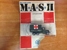 Rare Vintage 1975 Zee Toys 1/87Scale MASH M.A.S.H. Die Cast Metal Vehicle