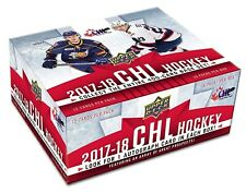 2017-18 Upper Deck CHL Hockey Cards Hobby Box