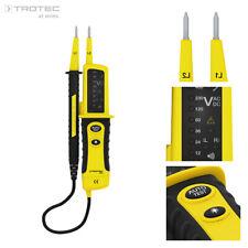 TROTEC Spannungsprüfer BE20 | Spannungsdetektor | Phasenprüfer | Stromprüfer