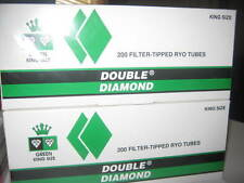 2 Boxes Double Diamond King Size Menthol Cigarette Filter Tubes
