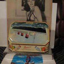 Vtg Bensons R.M.S. Queen Mary Tin Shawshank Redemption Rare English Cunard Rms