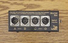 Le Maitre 4-Way Pyro Controller Splitter Box (Brand New!)