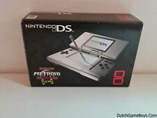 Nintendo DS Phat - Silver - Metroid Prime Hunters