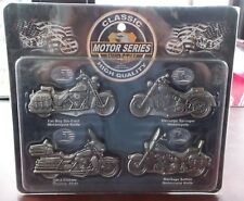 Set of 4 DIE-CAST Motorcycle Knives FAT BOY Heritage Springer SOFTAIL etc