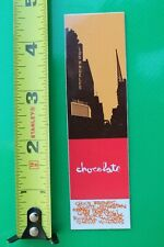 Chocolate Skateboards Team La Stevie Williams Z9 Vintage Skateboarding Sticker