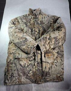 Vintage Duxbak Woodland Camo Insulated Hunting Parka Jacket Coat Size  XL USA
