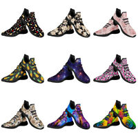 Women Sports Knit Running Shoes Outdoor Casual Walking Sneakers Ahletic Comfort