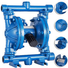 Air Operated Double Diaphragm Pump 12inch Outlet Low Viscosity Petroleum Fluids