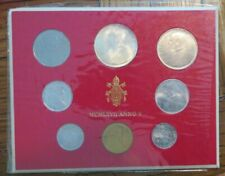 1967 MCMLXVII Vatican City Mint Set Pope Paul VI ANNO V Set