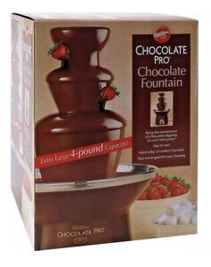 Wilton Chocolate Pro Chocolate Fountain - Chocolate Fondue Fountain NEW SEALED