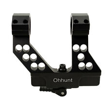 ohhunt Quick Detach AK Side Rail Scope Mount with Integral 1 Inch/30mm Ring