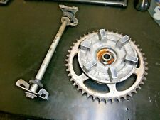 Kawasaki ex250 ex 250 2009 Rear Sprocket Carrier and Spindle with all Spacers