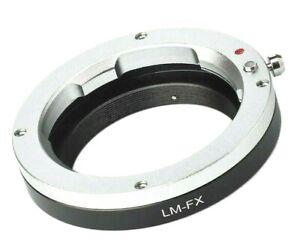Quality LM-FX Leica M LM Lens to Fuji FX Camera Mount Adapter (Fits FX cameras)