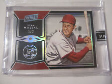 2017 Panini The National VIP Black Box STAN MUSIAL CARDINALS Diamond 1/2