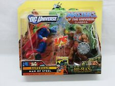 MOTUC,MOTU,HE-MAN Vs. SUPERMAN,Classics,DC Universe,MOC,MISB,Exclusive,He-man *