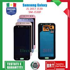 SAMSUNG Display Originale LCD Touch Screen Per Galaxy J5 2017 J530F Nero Blu Oro