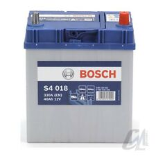 BATTERIA AUTO BOSCH S4 0180 40AH 330A 12 V POLO +DX 187x140x227 mm 0092S40180
